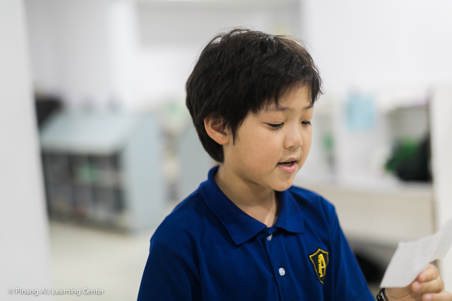 Korean Student, Penang Homeschool