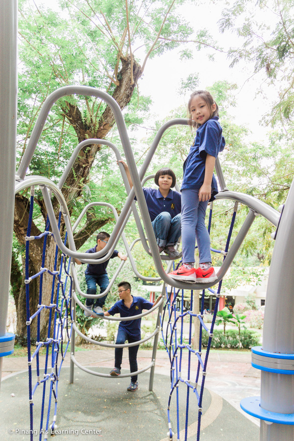 Park outing by Penang Homeschool Center