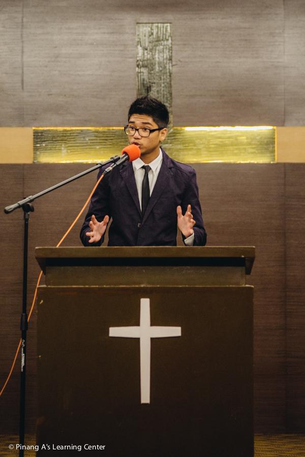 Penang Homeschool Speech Winner