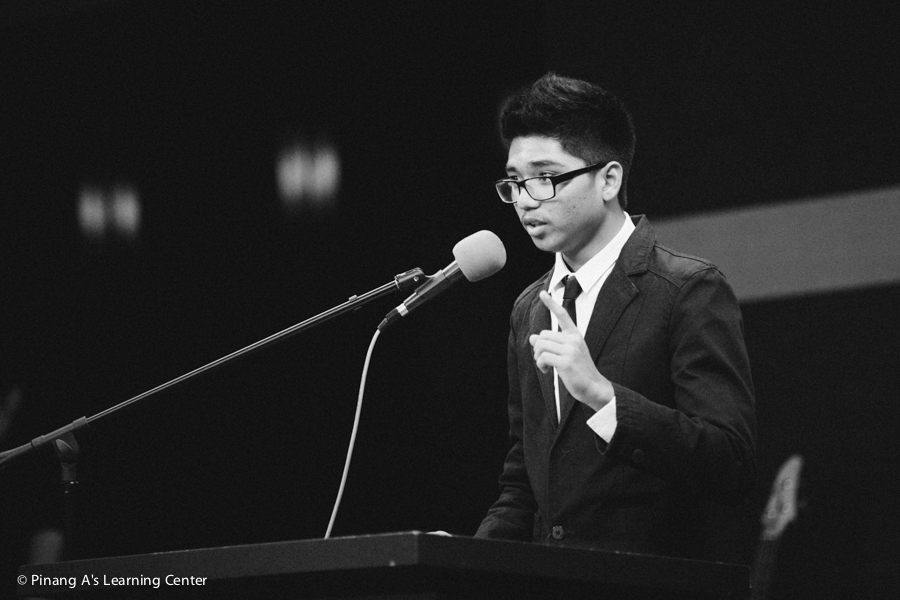 Penang homeschool Speech