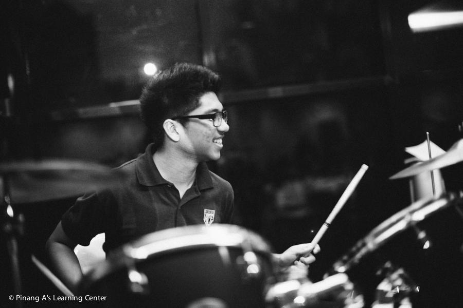 Jeremy On drums
