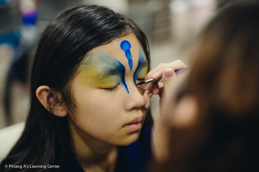 pinang a's learning centre, concert night, face painting