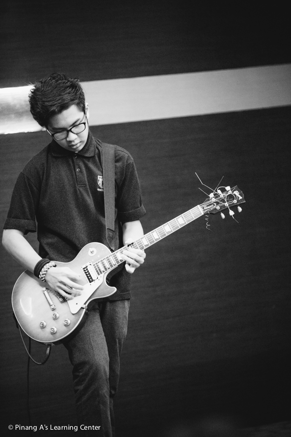 Penang Homeschool Center Guitarist