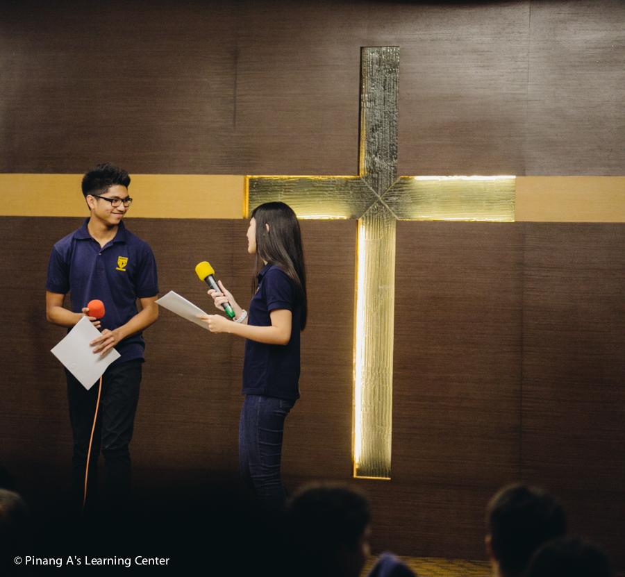 Penang homeschool concert Emcee